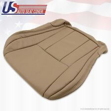 1996 97 98 00 2001 Toyota 4Runner Driver Bottom Leather Seat Cover Color Oak Tan