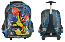 TRANSFORMERS OPTIMUS PRIME SAC A ROULETTE TROLLEY SAC A DOS CARTABLE NOUVEAUTE