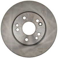 Disc Brake Rotor-Non-Coated Front ACDelco Advantage 18A543A