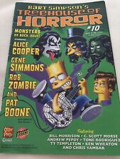 Bart Simpson's Treehouse Of Horror #10 Monsters Of Rock Issue (2006) Softcover