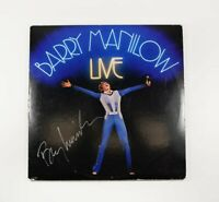 Barry Manilow Autographed Signed Album LP Record Certified Authentic JSA COA