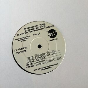 """The Grid – A Beat Called Love Test Pressing 1990 UK VINYL 12"""" - Unplayed - Mint"""