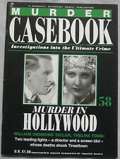Murder Casebook magazine Issue 58 - William Desmond Taylor, Thelma Todd