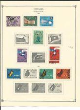 Somalia Collezione 1931 a 1973 su 15 Scott Internazionale Pagine