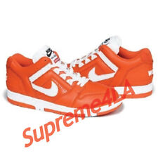 Supreme 17F/W SB Air Force 2 Orange Size 12 1000% Authentic in Hand