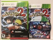 Official Naruto Ultimate Ninja Storm 2 (Xbox 360) Complete Cib Very Good