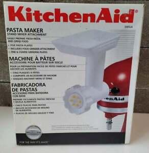 NEW OLD STOCK KitchenAid Pasta Maker Food Grinder Attachment SNFGA FREE US SHIP