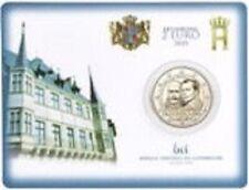 1x 2euro commémo. Luxembourg 2020 (Prince Henri) (neuve) BU PONT coincard