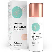 59,80€/100ml Cosphera Hyaluron Performance Creme 50ml - vegane Tages Nachtcreme