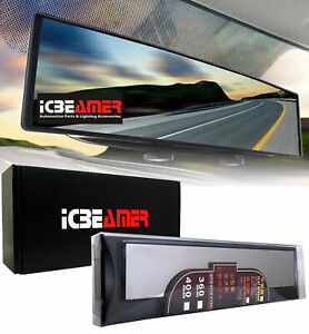 Broadway 14.2 Convex Clear Interior Rear view Mirror Snap on Blind Spot J118