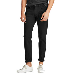 Polo Ralph Lauren Men's Hampton Relaxed Straight Stretch Jeans