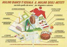 X9681 Mulino Bianco regala il Mulino degli artisti - Pubblicità 1991 - Advert.