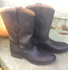 Womens Size 8  RESISTOL RANCH (Made by Lucchese) M0504 Cowgirl Cowboy Boots Nice