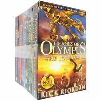 Heroes of Olympus Series Children 5 Books Collection Set By Rick Riordan New