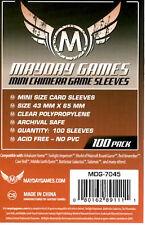 Mayday Games Mini Chimera Game Card Sleeves (43mm X 65mm) (100) 7045