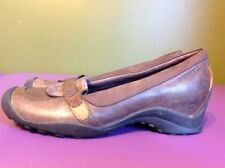 Merrell Shoes QForm Air Cushion Ortholite Insole Brown Leather Women's 7 Loafers