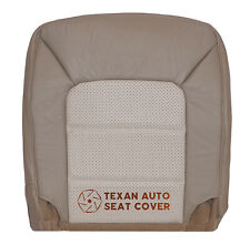 2003 Ford Expedition Eddie Bauer 4X4 Driver Bottom Leather Seat Cover 2 Tone Tan