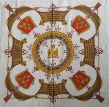 -Superbe Foulard ANTONELLA RUSSINOVA  100% soie  TBEG  vintage 86 x 88 cm