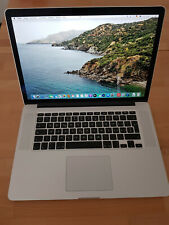 """Apple MacBook Pro Retina 15,4"""" i7 2,4GHz 8GB 256GB SSD A1398"""