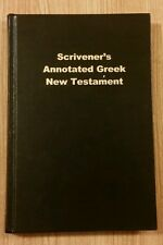 Scrivener's Annotated Greek New Testament NEW
