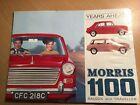 MORRIS 1100 SALOON & TRAVELLER Car Brochure 1967 #H&E 6605/D 2627(5124)3/67