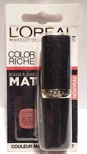 Rouge à Lèvres Color Riche Matte 633 Moka Chic L'Oréal