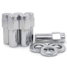20 Lug Nuts 12x1.5 Chrome SST Mag Nut 1.37 Shank Cragar Chevrolet Pontiac Buick