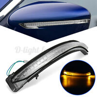 Left LED Door Wing Mirror Indicator Light Lens For Nissan Qashqai X-trail  #
