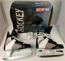 CCM Ice Hockey Skates Powerline 550 Boys Size 5 Black White