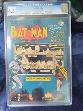 BATMAN #48 CGC FN 6.5 OW-W  1000 Secrets of the Batcave!