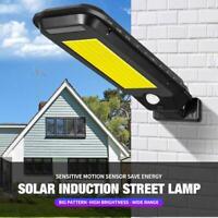 210LED Lámpara Solar con Sensor de Movimiento Exterior Proyectores Focos Jardín