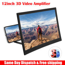 3D Enlarged Screen Mobile Phone Amplifier Magnifier Bracket Cellphone Holder US