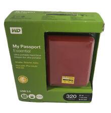 Western Digital WD3200ME 320GB My Passport Essential External USB 2.0 Hard Drive