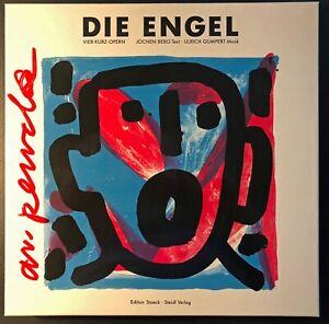 A.R.Penck, Die Engel Box, Signiert