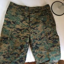 US Army ACU Military Cargo Pants Trousers Camouflage Camo Propper Large Long FS