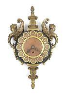 Vintage Westwood 8 Day West Germany Cast Metal Ornate Cherubs Wall Clock Parts