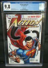 Action Comics #2 (2011) Ethan Van Sciver Variant DC CGC 9.8 X785