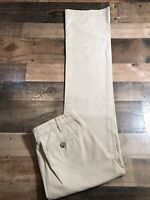 James Perse Standard Tan Washed Men's Chino Pants Size 28 (30x35)