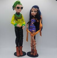 Monster High Boo York Comet Crossed Couple Cleo De Nile & Deuce Gorgon Doll Set