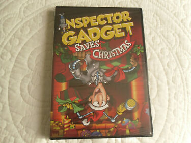 INSPECTOR GADGET SAVES CHRISTMAS DVD 2013  ANIMATED  BRAND NEW  SEALED