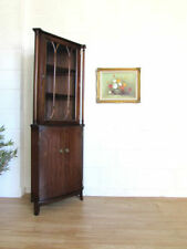Antique Style Mahogany Less than 30 cm Cabinets & Cupboards