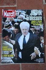 paris match 2650 du 9 mars 2000 jospin rainier zeta jones douglas hallyday