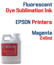 Fluorescent Dye Sublimation Ink - Magenta 240ml All Epson printers