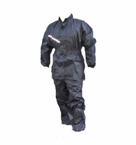Jumpsuit Dismountable Jacket+Pants Waterproof Oilcloth Waterproof Size XL