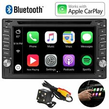 "6.2"" 2Din Car Radio Apple CarPlay Touch Screen Bluetooth DVD Player For iPhone"