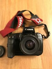 CANON EOS 5 35mm film SLR camera body only with Strap EOS EF mount W/ 35-80mm