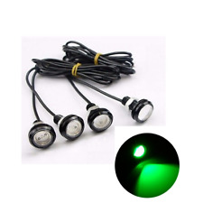 4x Waterproof LED Rock Light For JEEP  SUV Off-Road Truck Underbody Trail Green
