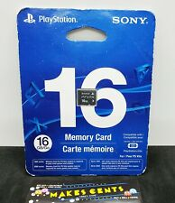 Sony Playstation PS Vita 16GB Memory Card PCH-Z161 US Version New in Card OEM!
