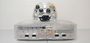 Microsoft Xbox Crystal Limited Edition 8GB w/ Matching Controller & Cords