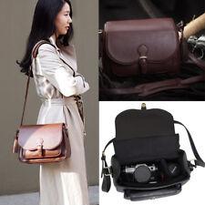 Women's DSLR SLR Camera Lens Padded Shoulder Messenger Bag Camera Bag Handbag